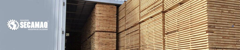 Estufas para secagem de madeira | Secamaq
